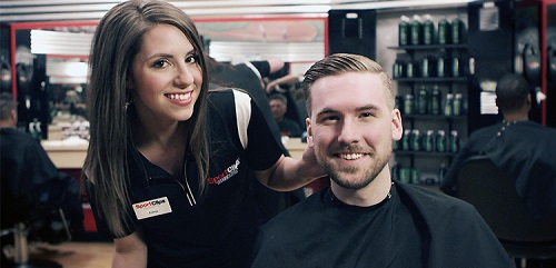 Sport Clips Haircuts of Derby Marketplace​ stylist hair cut